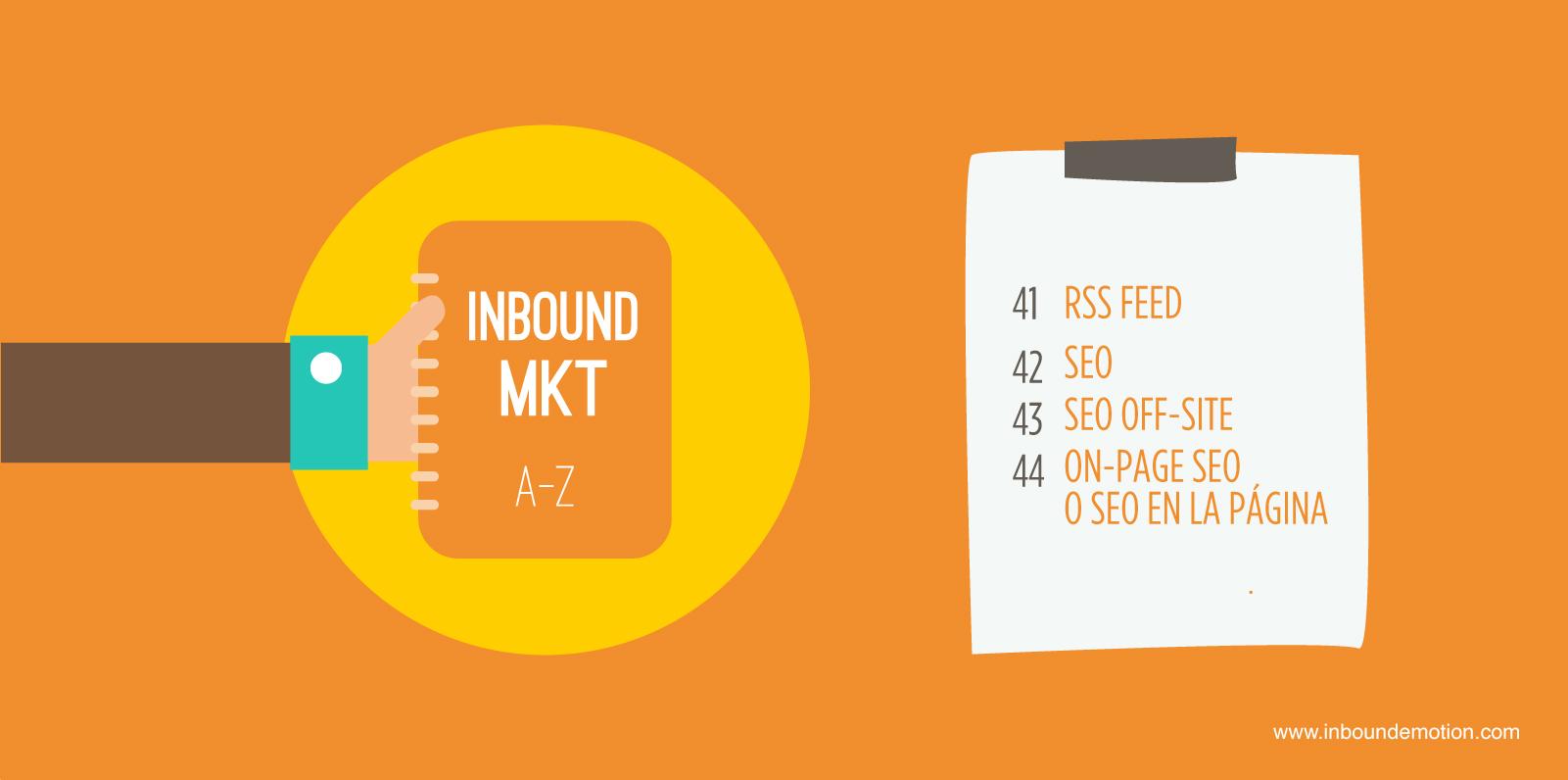 Diccionario Inbound Marketing